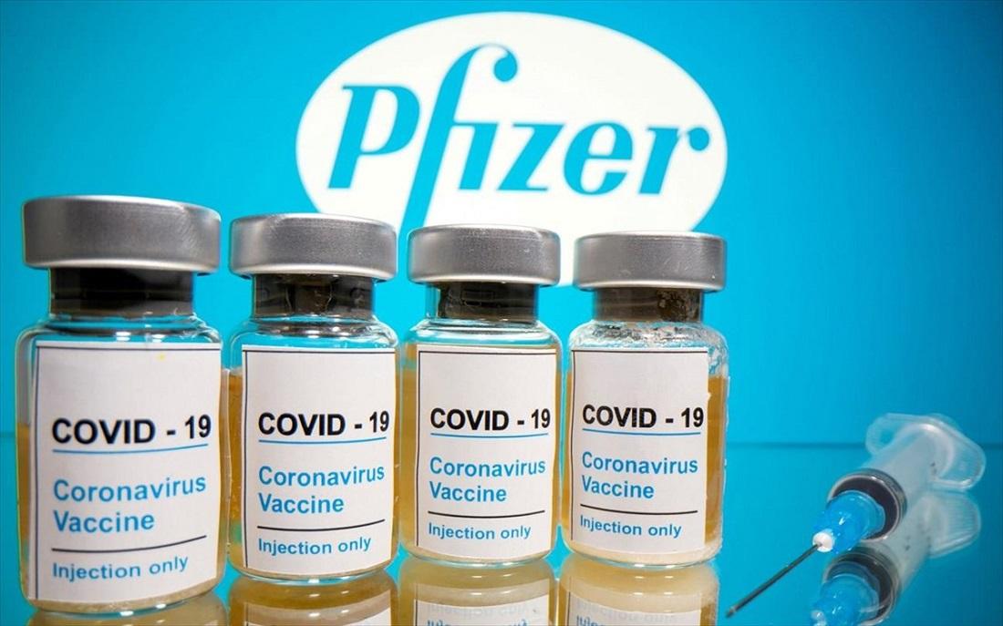 embolio koronoios pfizer