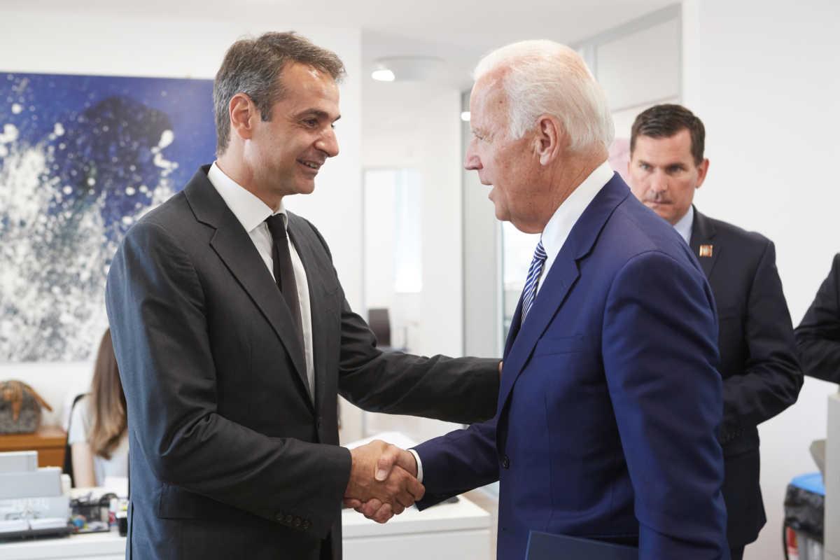 mitsotakis Biden