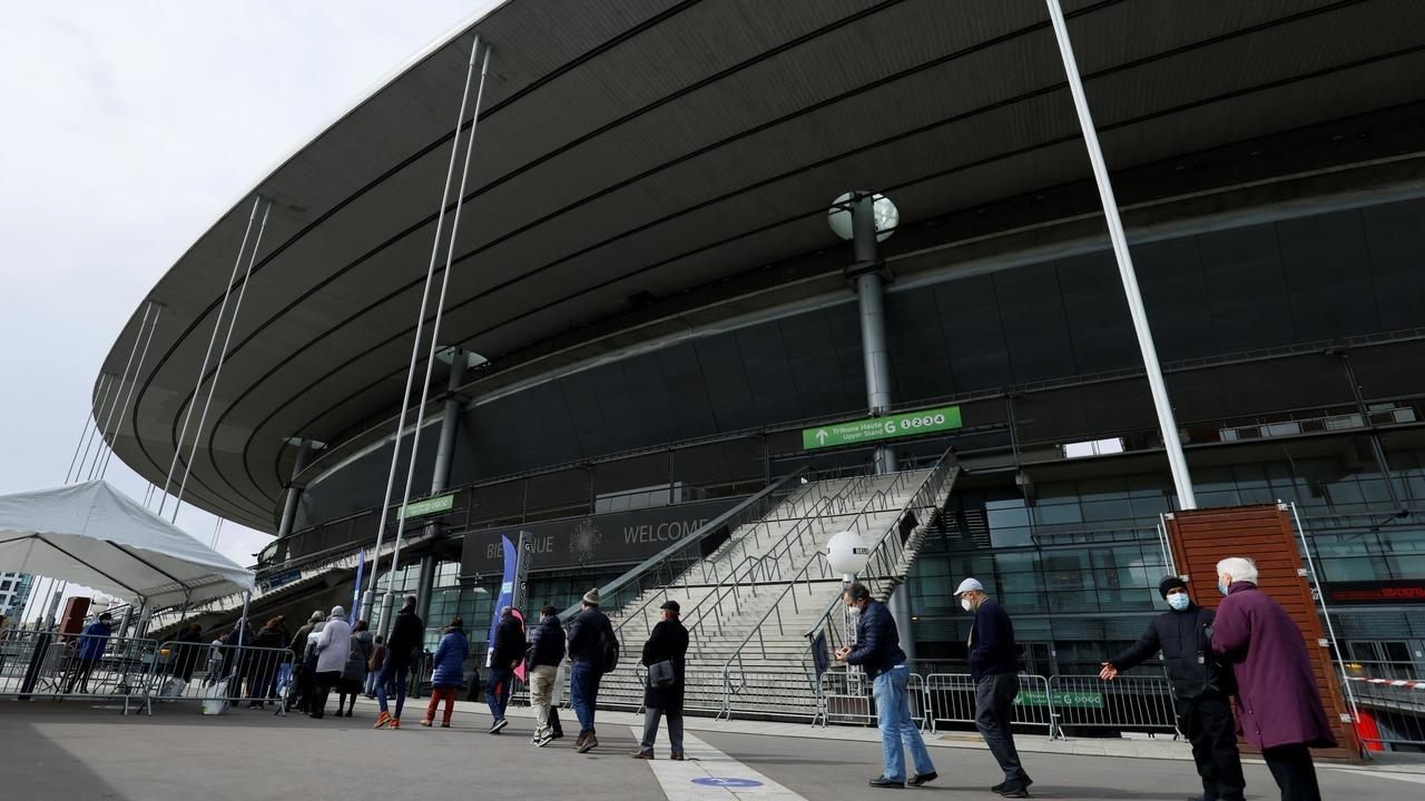 france stadiums covid