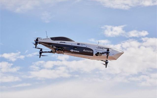 petakse to drone tis formula 1