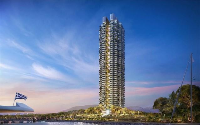 elliniko prasinos ouranoksustis marina tower