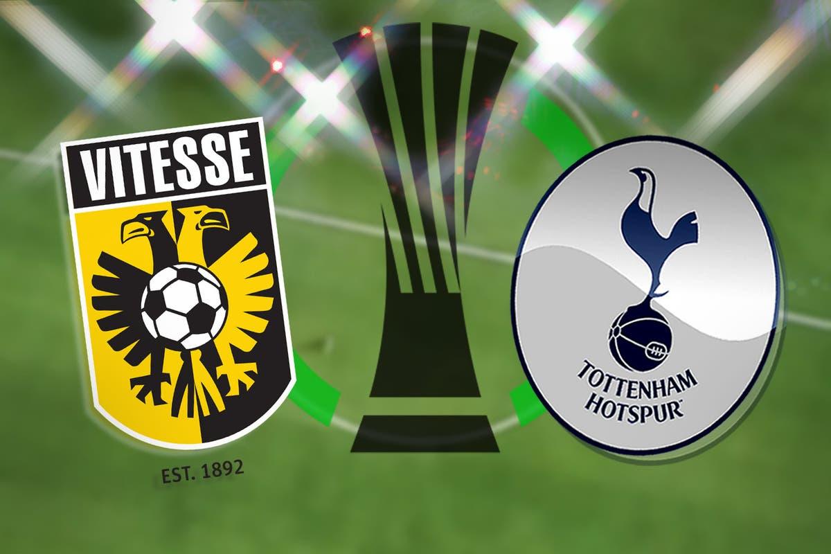 Vitesse vs Tottenham Europa Conference League